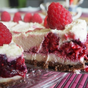 Himbeer Cheesecake